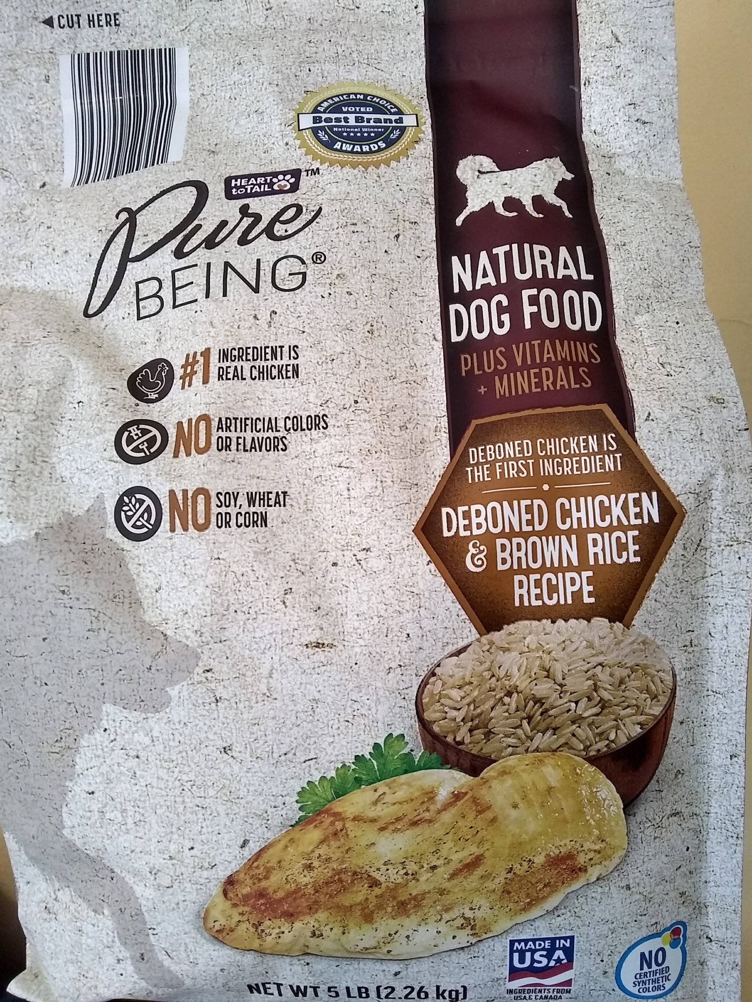 Deboned Chicken and Brown Rice Recipe Dog Food - Product - en