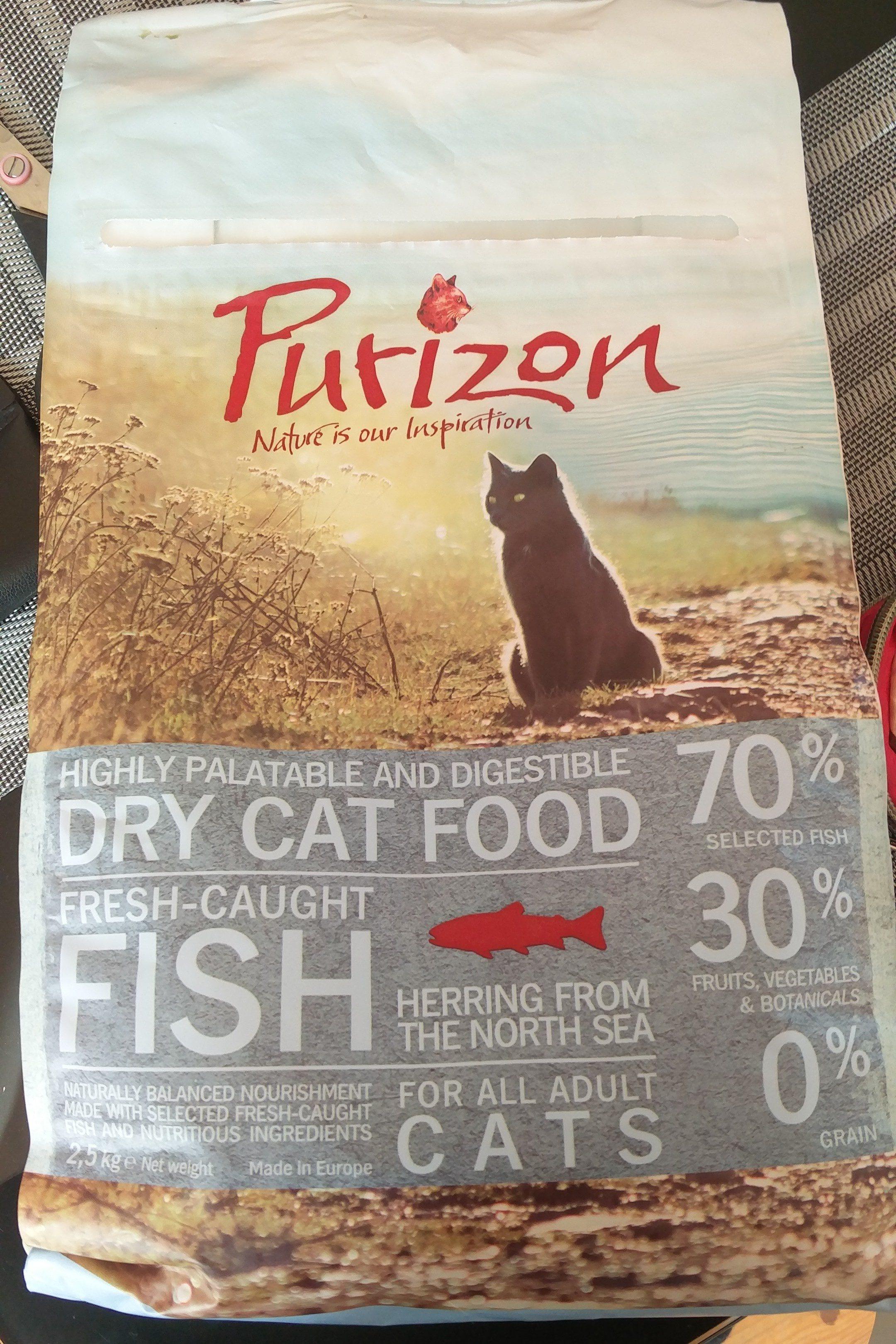 Dry cat food fresh-Caught Fish - Product