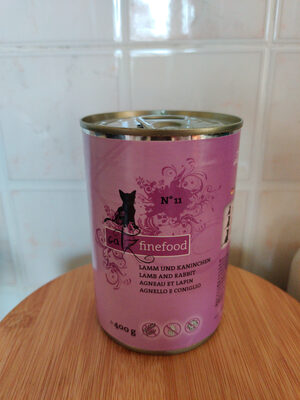 Catz finefood lamb and rabbit - Product