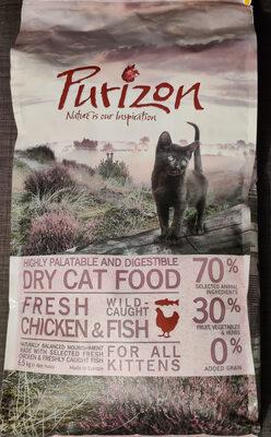 Aliment complet pour chatons en croissance, chattes en lactation et en gestation - Poulet et poisson - Product - en