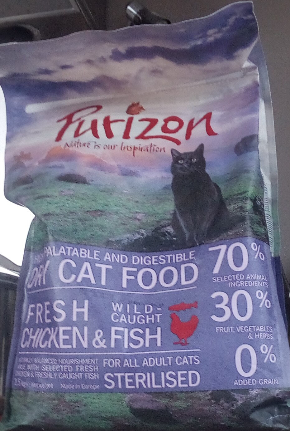 Dry cat food - Produit - en