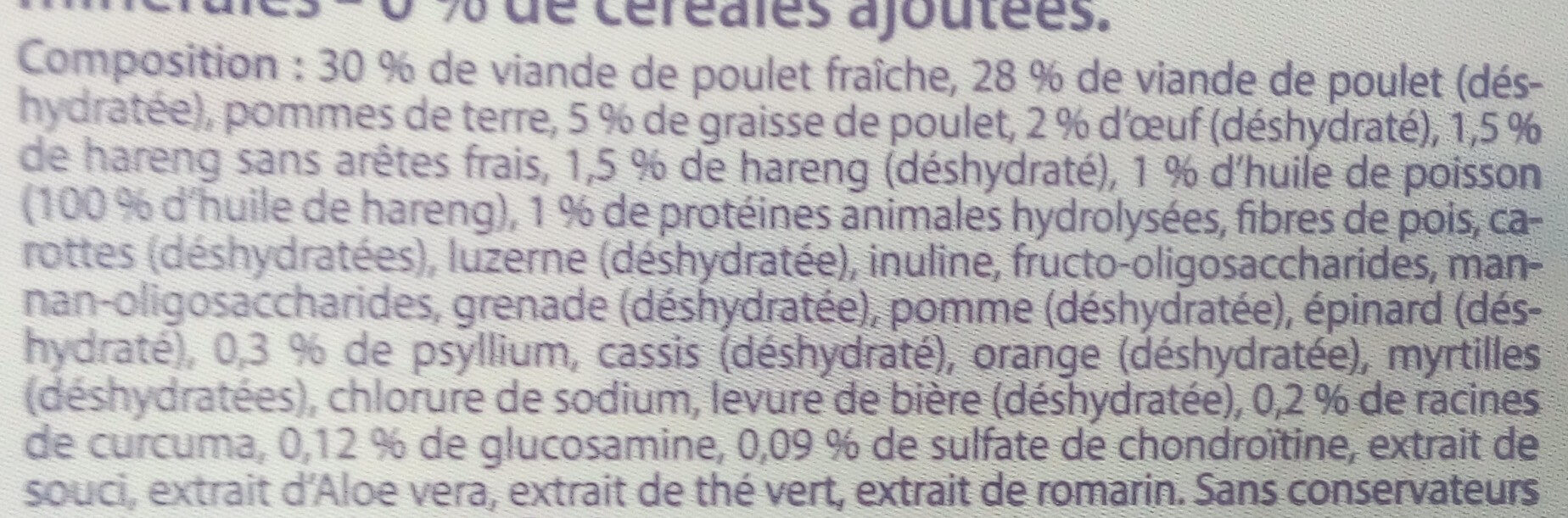 Dry cat food - Ingredients - en