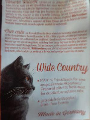 wild freedom - Product
