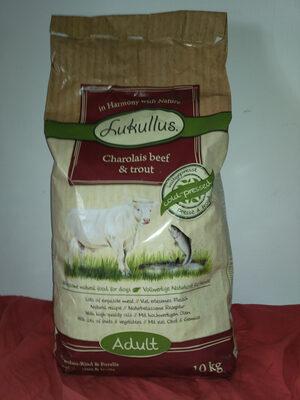 Lukullus bœuf charolais et truite au riz complet - Produit