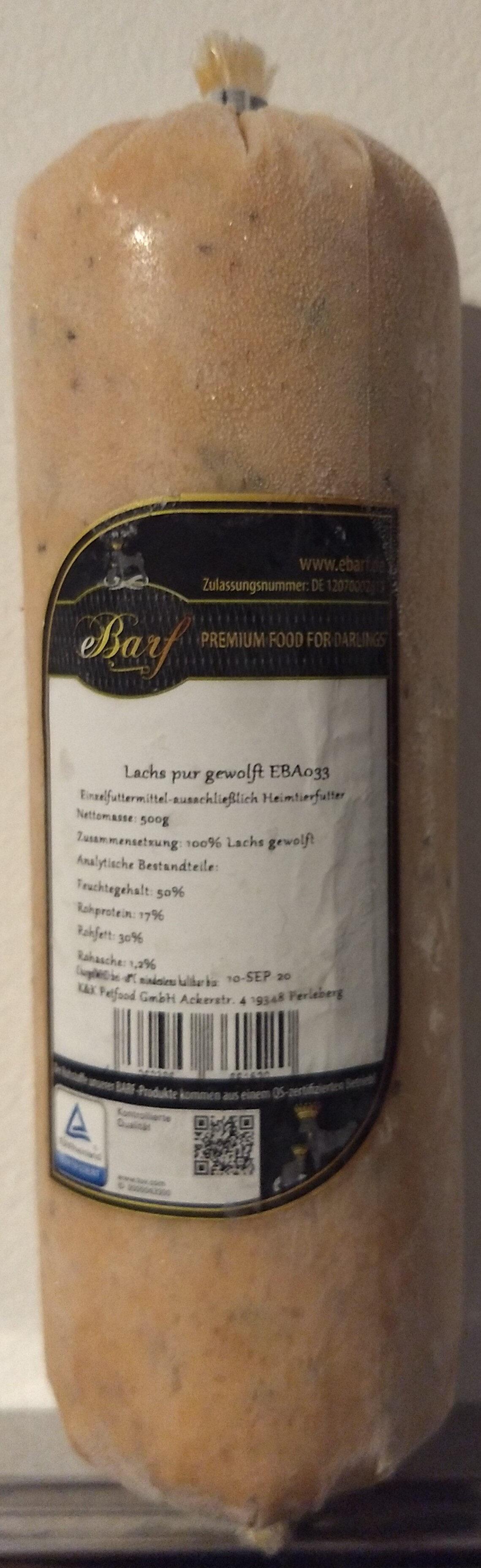 Lachs pur gewolft EBA033 - Product