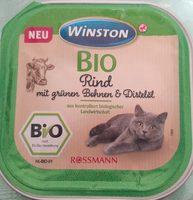 Bio Rind mit grünen Bohnen & Distelöl - Product