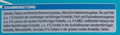 Knuspermenü mit Fisch - Ingredients