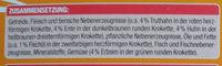 Knuspermenü mit Geflügel - Ingredients