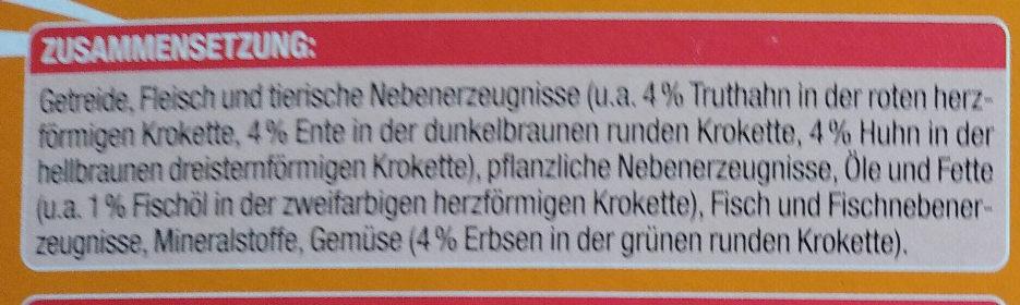 Knuspermenü mit Geflügel - Ingredients - de