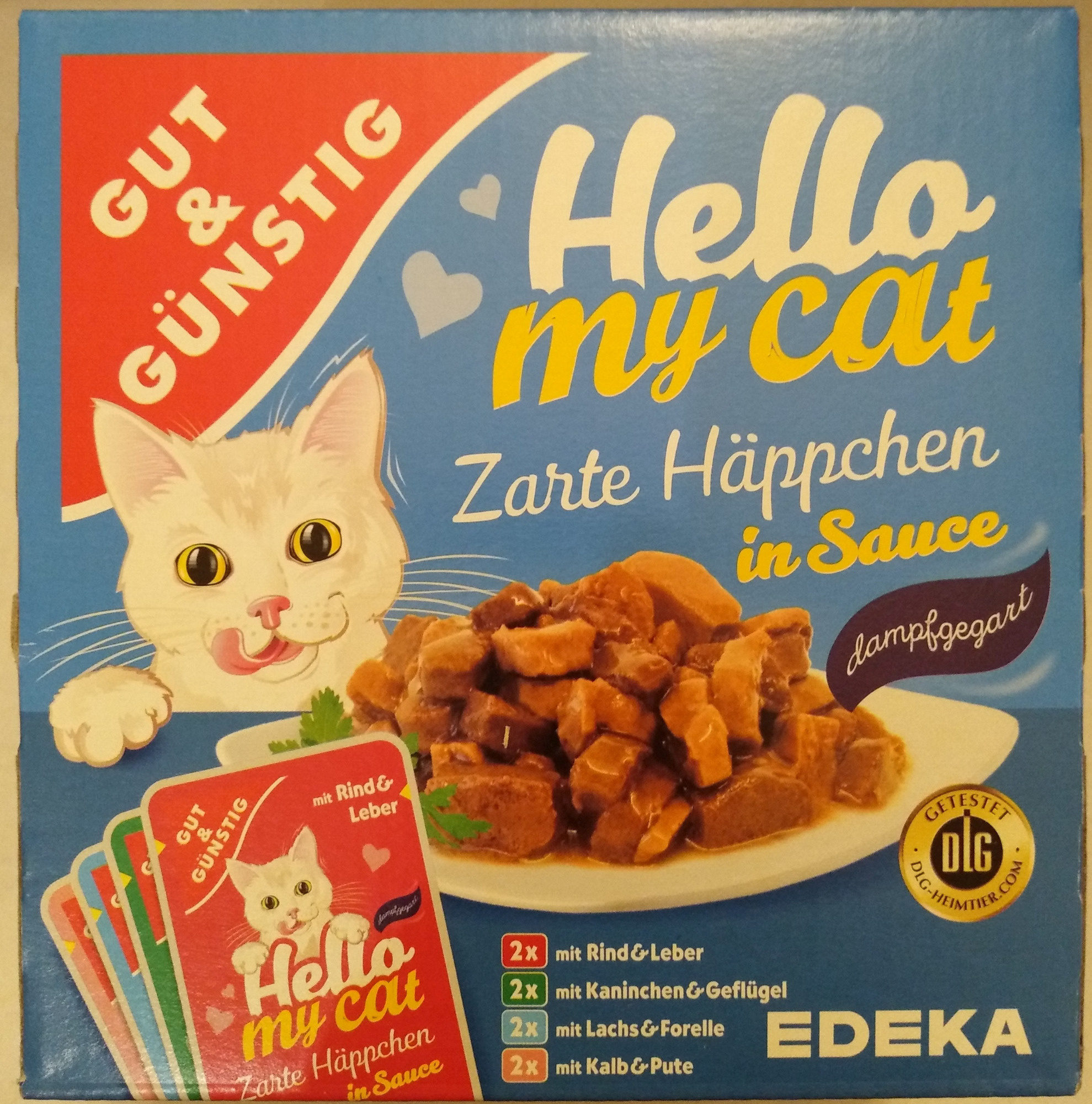 Zarte Häppchen in Sauce - Product - de