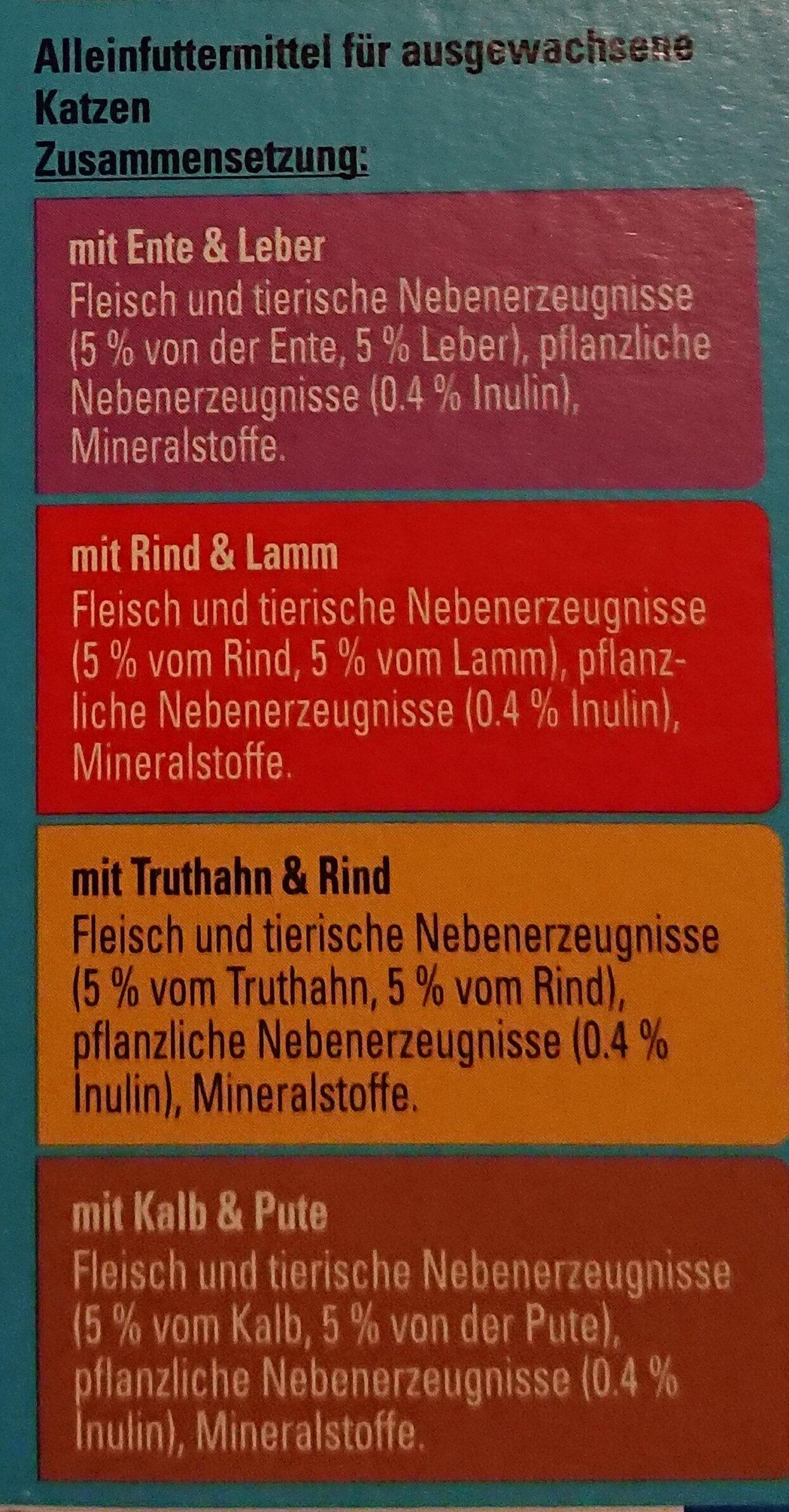 Zarte Häppchen in leckerer Sauce - Ingredients - de