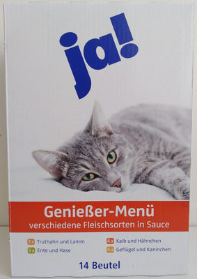 Genießer-Menü verschiedene Fleischsorten in Sauce - Product