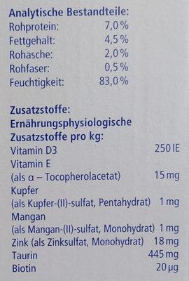 Genießer-Menü verschiedene Fleischsorten in Sauce - Nutrition facts