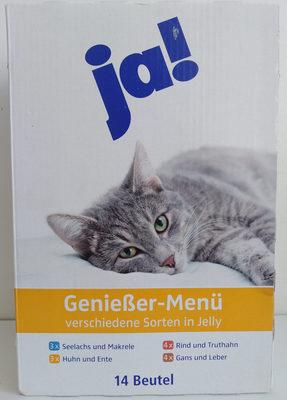 Genießer-Menü verschiedene Sorten in Jelly - Product