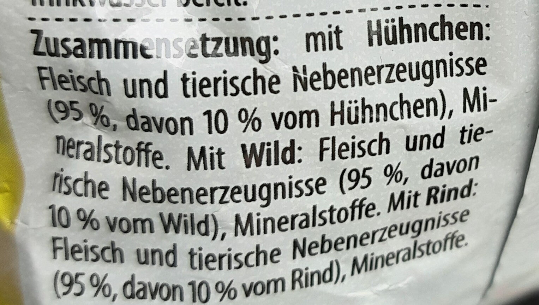 Mini Mix - Ingredients - de