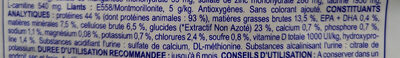 Urinary Wib - Informations nutritionnelles - fr