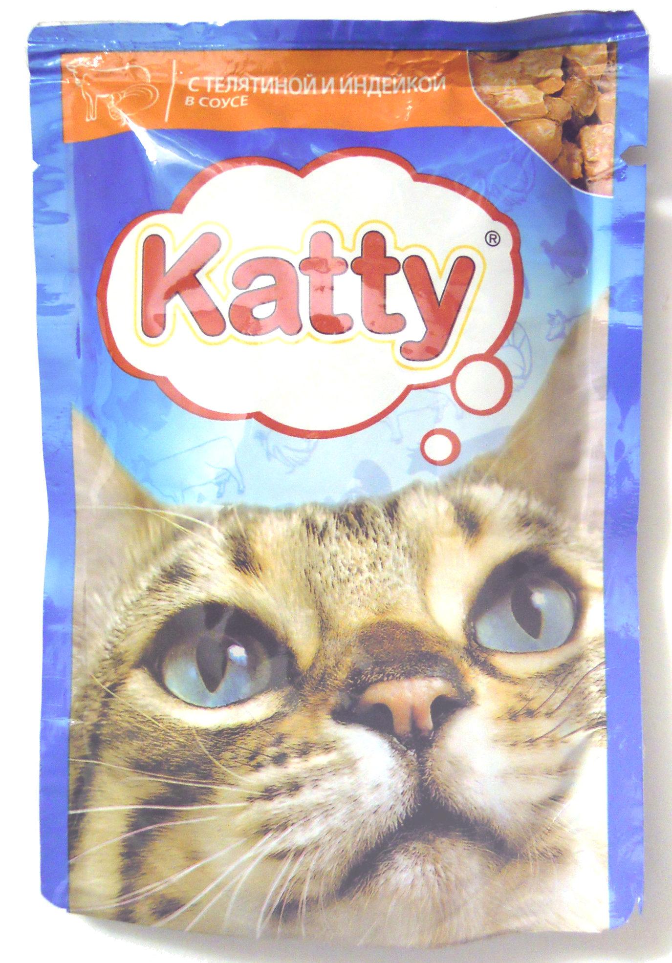 Katty с телятиной и индейкой в соусе - Product - ru