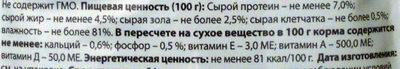 Нежные кусочки в соусе с говядиной - Nutrition facts - ru