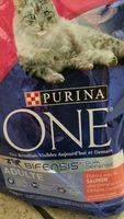Croquettes pour chats adultes, au saumon et au riz - Produit