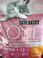 Croquettes pour chats juniors de 1 à 12 mois, au poulet et au riz - Product - fr