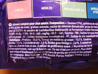 Croquette pour chat - Informations nutritionnelles - fr