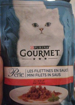 Gourmet Perle Pouch Beef 85G - Produit