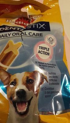 Dentastix, aliment complémentaire pour chiens entre 4 & 10kg, 80%de réduction de tartre - Product