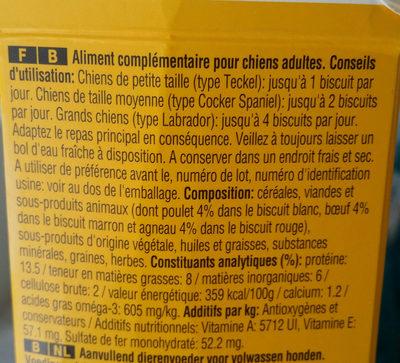 Biscrok - Ingredients - fr