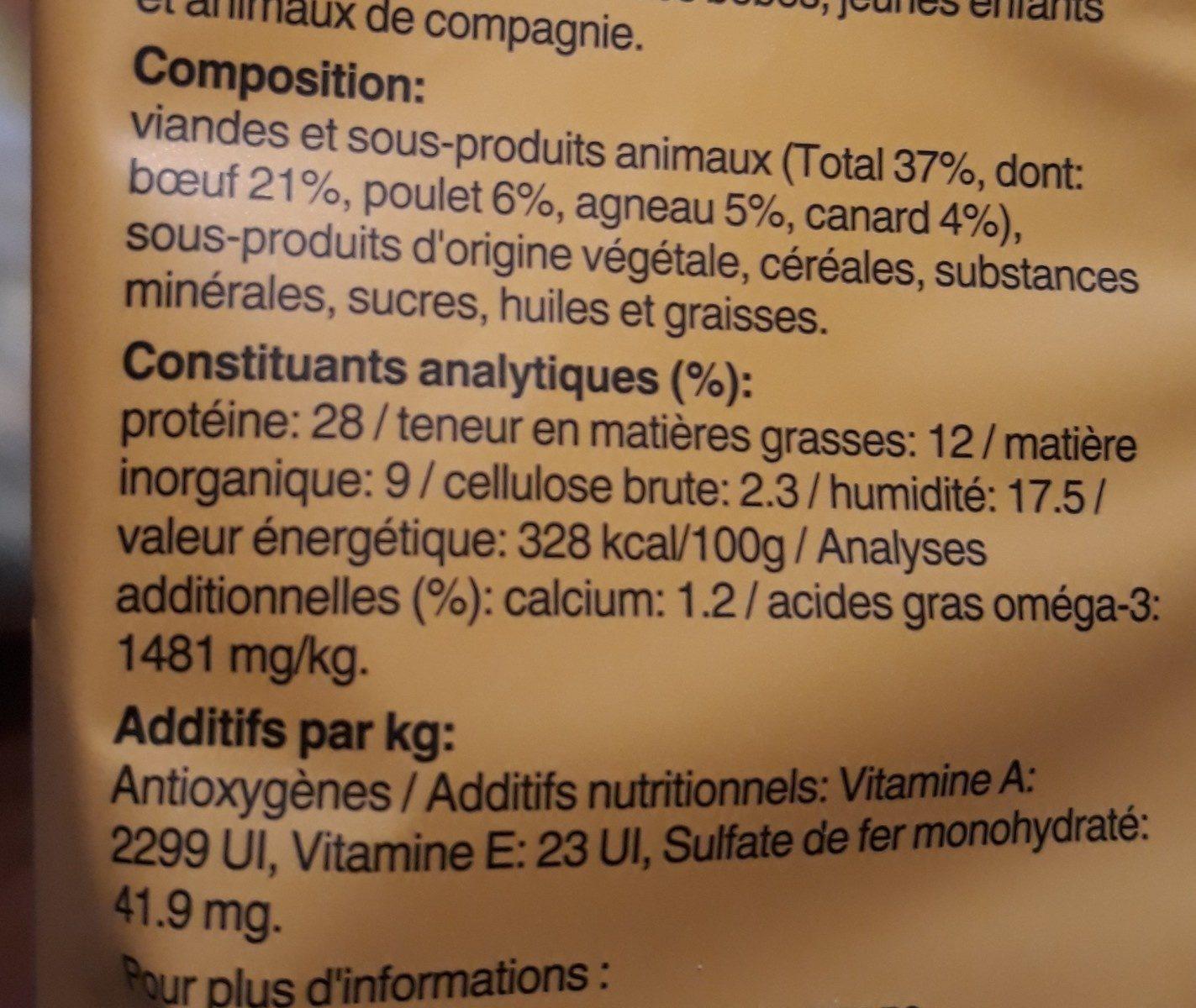 Friandises Schmackos Multi De 4 Variétés Pour Chien - X20 - Ingredients - fr