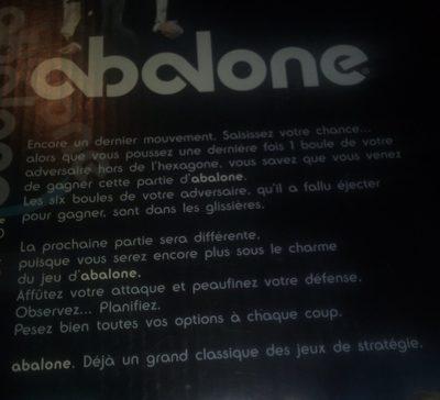 Abalone Standard - Ingrédients