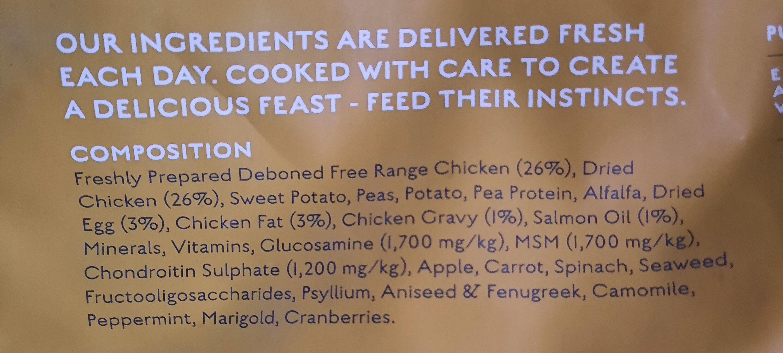 canagan free range chicken - Ingrédients - fr