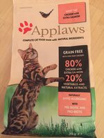 Adult cat chicken with extra salmon - Product
