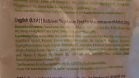 Benevo Vegan Dry Dogfood (Wheat Free) - Ingredients