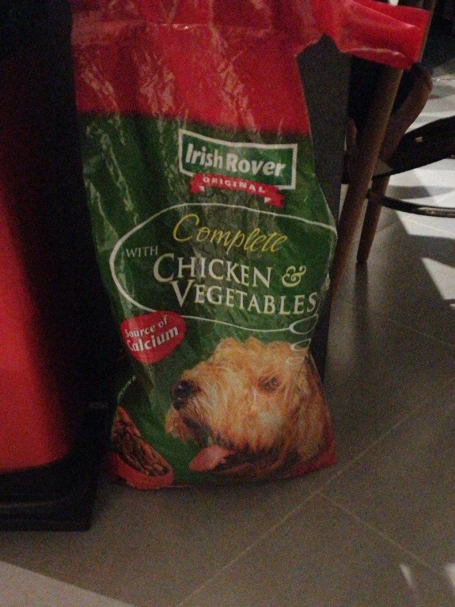Croquette Poulet et végétales - Product - fr