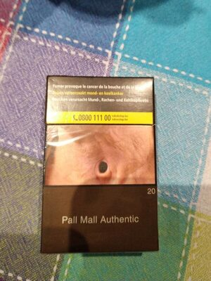 Pall mall authentic - Product - fr