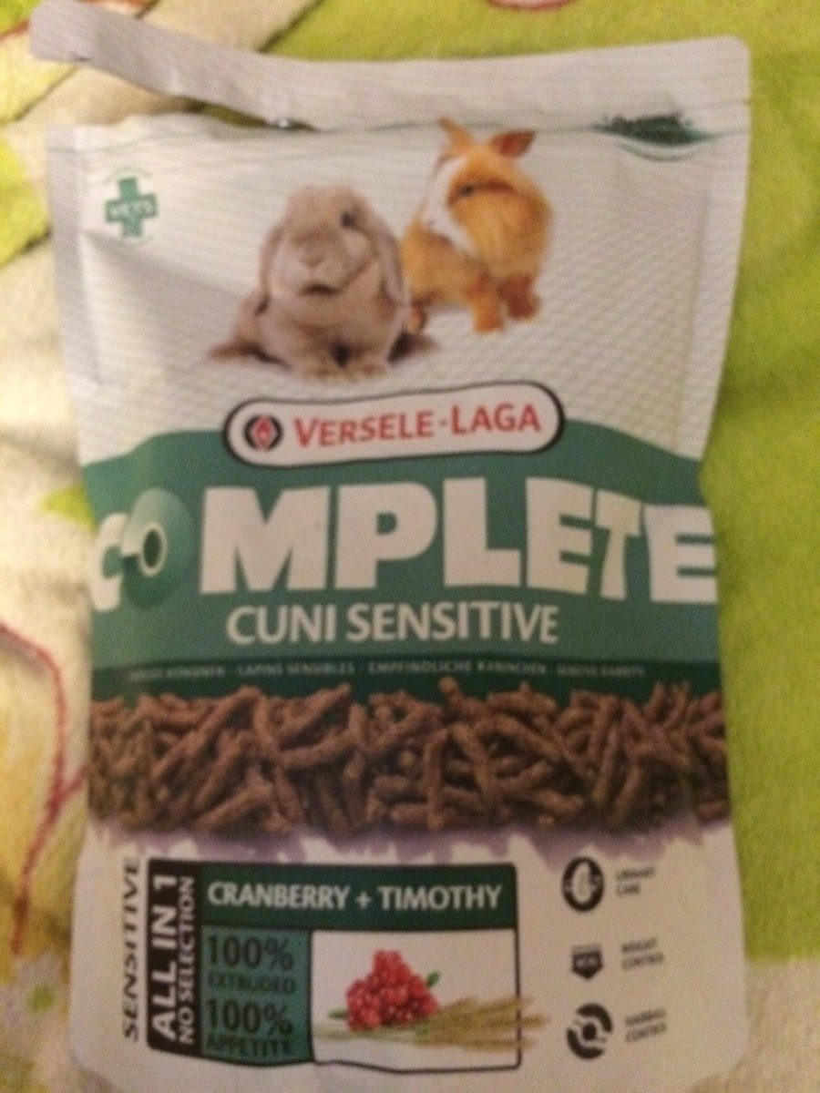 Versele Laga Complete Cuni Sensitive Rabbit Food 6 X - Product - fr