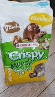 Versele-laga Hamster Crispy - (crispy Muesli Hamsters) (+ Vit.e) - Product
