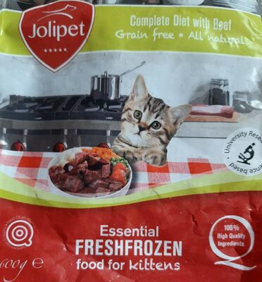 Essential fresh frozen food for kittens - Product - fr