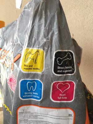 Croquette pour chien - Ingredients