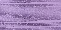 Specific Chat F-bio-w Boeuf 42X100 G - Ingredients - fr