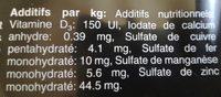 Aliment Humide Pour Chiens Cesar Pouch Multipack En Sauce - Ingredients