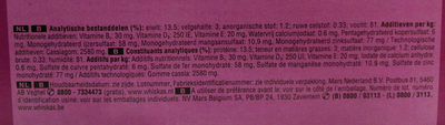 casserole junior 2-12 - Nutrition facts