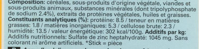 Dentastix - Ingredients