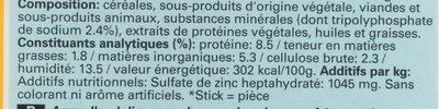 Dentastix - Ingredients - fr