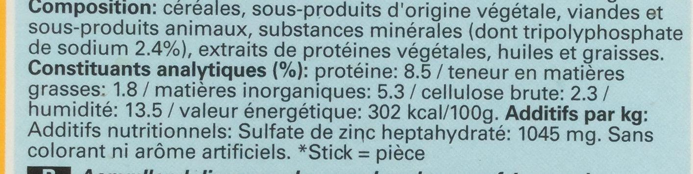 Dentastix - Ingredients