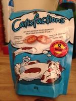 Aliment complémentaire pour chats et chatons, friandises au saumon - Product