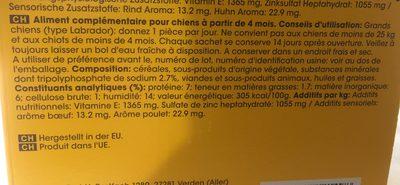 Pedigree Denta Stix 56er, Multipakning Til Store Hunde - Ingredients
