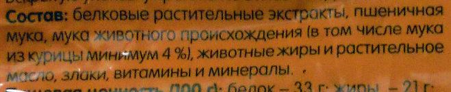 Лакомые подушечки С курицей - Ingredients - ru