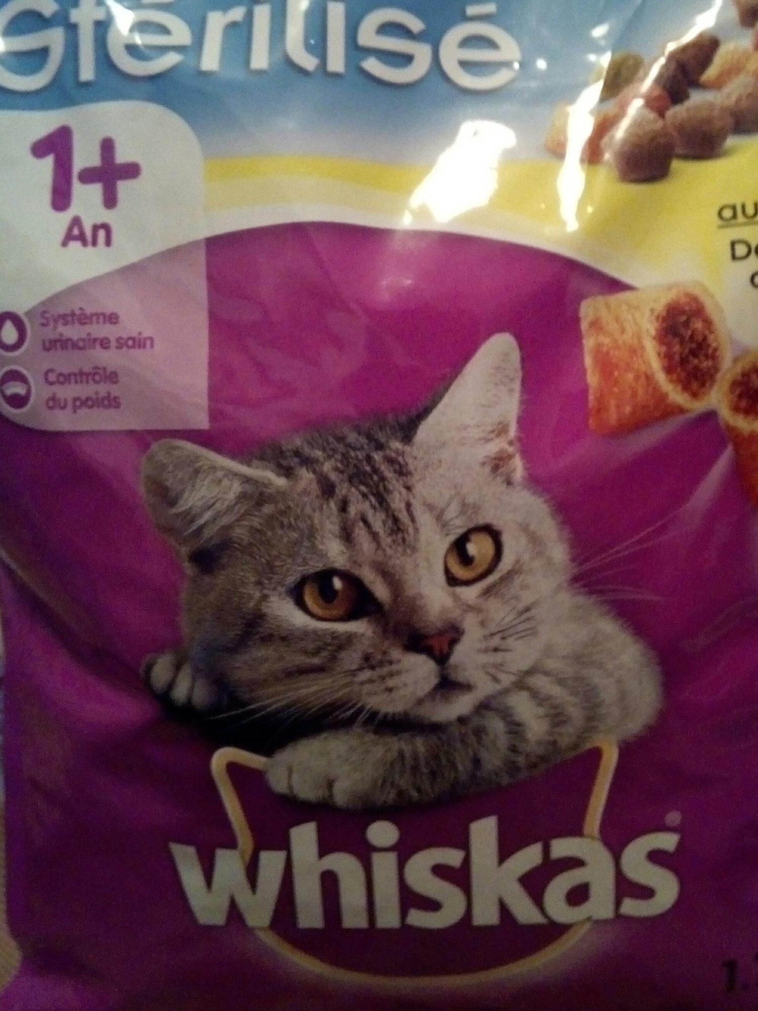 Whiskas sec sterilisé au poulet - Product