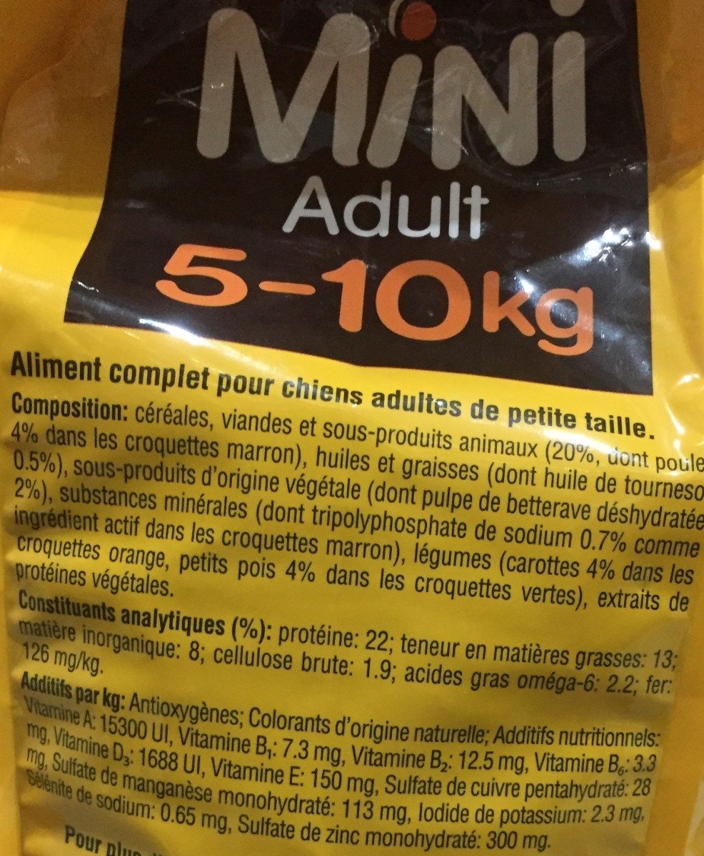 Croquette mini adult vital protection - Ingredients